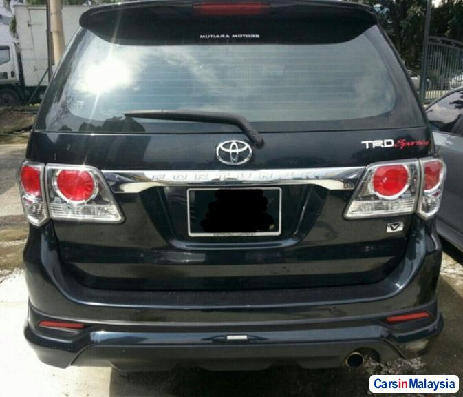 Toyota Fortuner 2.7 4WD 7 SEATER LUXURY FAMILY SUV Automatic 2013