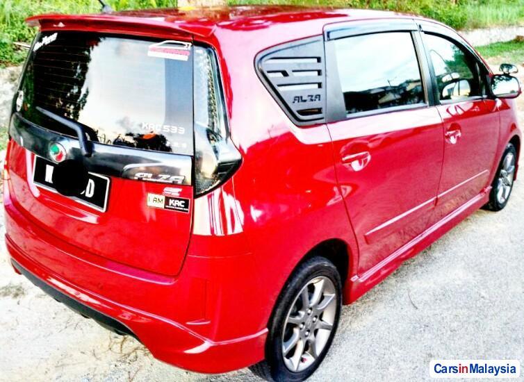 Perodua Alza Automatic 2014
