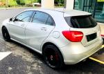 MERCEDES BENZ A180 TURBO SAMBUNG BAYAR CAR CONTINUE LOAN