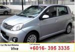 Perodua Viva for rental Melaka