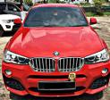 BMW X4 28i XDRIVE 2.0 AT SUV SAMBUNG BAYAR CAR CONTINUE LOAN