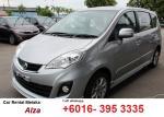 Perodua Alza rental Melaka