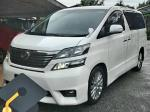 TOYOTA VELLFIRE 2.4 LUXURY MPV SAMBUNG BAYAR CAR CONTINUE LOAN