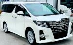 TOYOTA ALPHARD 2.5 AT MPV SAMBUNG BAYAR CONTINUE LOAN