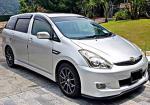 TOYOTA WISH 1.8 AT MPV SAMBUNG BAYAR CAR CONTINUE LOAN