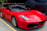 FERRARI F430 SPIDER 4.3L (A) LUXURY SUPERCAR