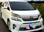 TOYOTA VELLFIRE 2.4L AT MPV SAMBUNG BAYAR CAR CONTINUE LOAN