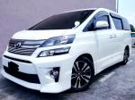TOYOTA VELLFIRE 2.4 AT MPV SAMBUNG BAYAR CONTINUE LOAN